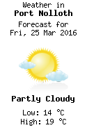 Weather in Port Nolloth